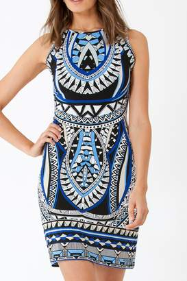 Hale Bob Opal Deco Dress