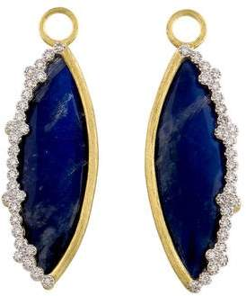 Jude Frances 18K Moonstone Doublet & Diamond Provence Champagne Earring Charms