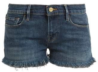 Frame Le Cutoff Denim Shorts - Womens - Denim