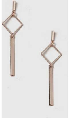 Dorothy Perkins Womens Geometric Stick Drop Earrings