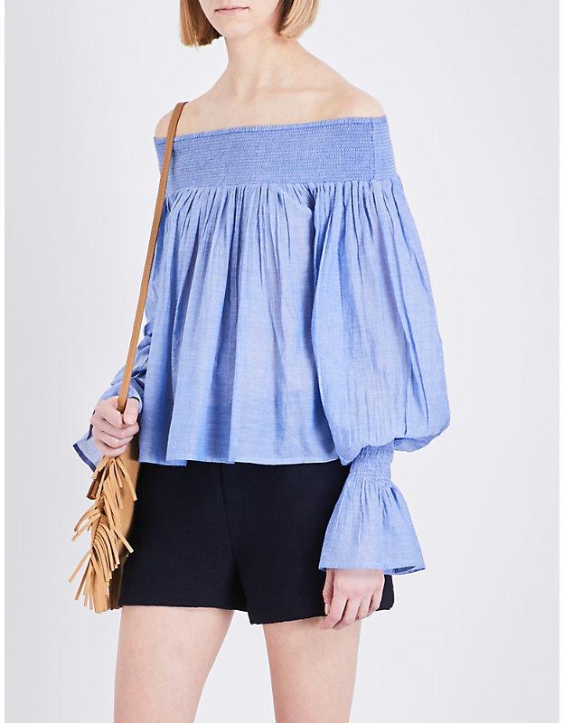 Maje Lova cotton top