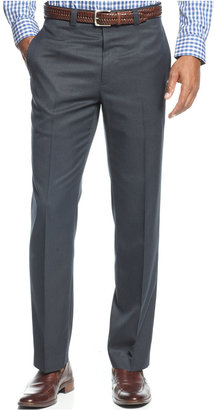 Lauren Ralph Lauren Men's Big & Tall Covert Slim-Fit Twill Dress Pants $95 thestylecure.com