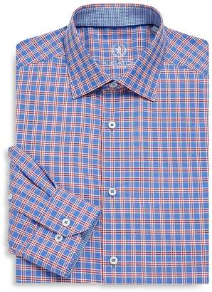 Bugatchi Men's Wovens Classic Cotton Dress Shirt