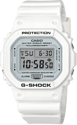 Casio G-Shock Men's Digital White Resin Strap Watch 42.8mm