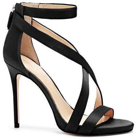 Imagine Vince Camuto Devin – Fabric Crisscross-Strap Sandal