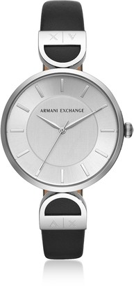 Emporio Armani Brooke Stainless Steel Black Women's Watch