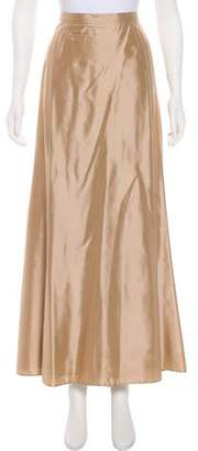 Max Mara Satin Maxi Skirt