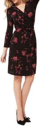 Dex Floral Tie-Waist Dress
