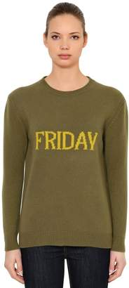 Alberta Ferretti Over Friday Wool & Cashmere Sweater