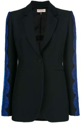 Emilio Pucci lace inserts blazer