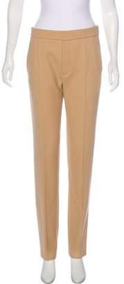 Chloé High-Rise Straight-Leg Pants