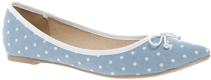 Asos LIVE Pointed Ballet Flats