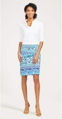 J.Mclaughlin Nicola Skirt in Athena Stripe