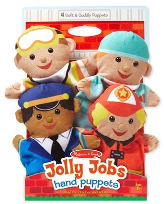 Jolly Helpers Hand Puppets 4-Piece Set