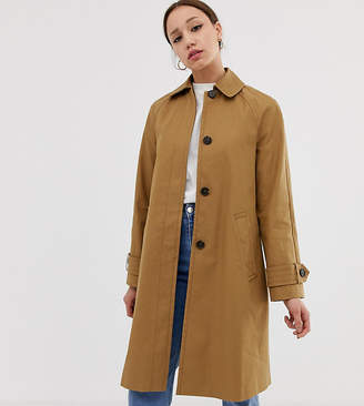 Asos Tall DESIGN Tall boyfriend trench coat