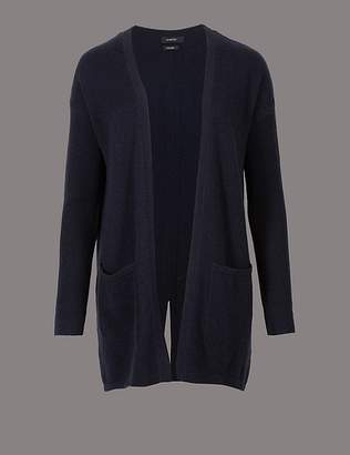 Marks and Spencer Pure Cashmere Split Back Cardigan