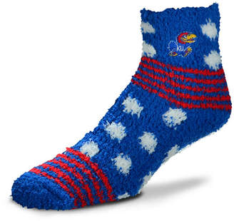 For Bare Feet Kansas Jayhawks Homegater Sleep Soft Socks