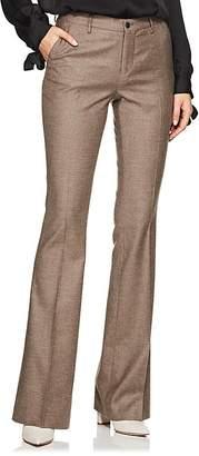 Pt01 Women's Elsa Metallic Wool-Blend Flannel Trousers