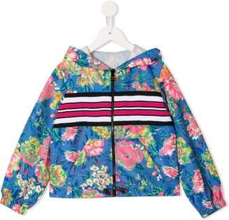 7057e1cdd Girls Bomber Jacket With Hood - ShopStyle UK