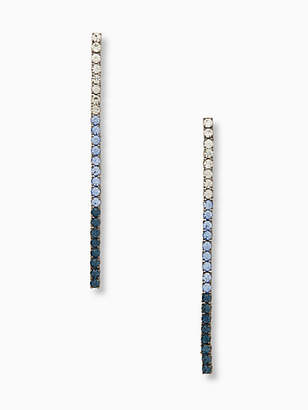 Kate Spade Glitzville linear earrings