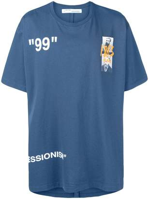 Off-White Summer graphic print T-shirt