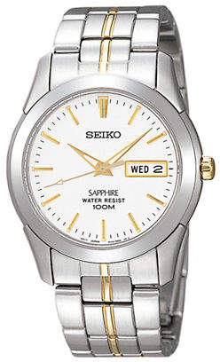 Seiko Men's Two Tone Stainless Steel Watch