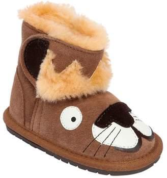 Emu Lion Merino Wool & Suede Boots