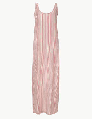 Marks and Spencer Striped Shift Maxi Dress