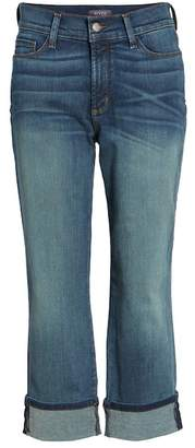 NYDJ 'Dayla' Colored Wide Cuff Capri Jeans (Regular & Petite)