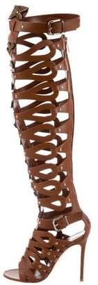 Gianvito Rossi for Altuzarra Embellished Gladiator Boots