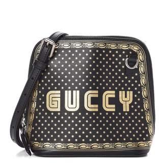 Gucci Guccy Top Zip Shoulder Bag Mini Black/Gold