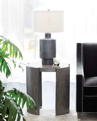 Bernhardt Linea Round Chair-Side Table
