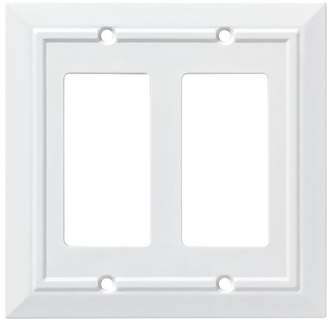 Franklin Brass Classic Architecture Double Decorator Wall Plate