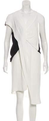 Helmut Lang Tonal Midi Dress