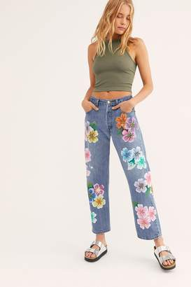 Rialto Jean Project The Garden Boyfriend Jeans