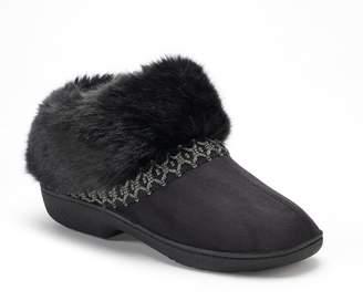 Isotoner Women's Nola Microsuede Boot Slippers