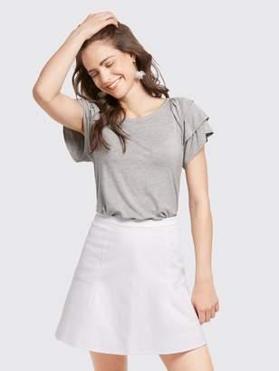 Draper James A-Line Flutter Skirt