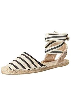 Soludos Women's Classic Sandal Stripe Shoe - Natural