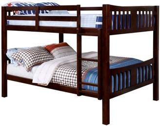 Furniture of America Sophie Full Over Full Bunk Bed, Multiple Colors Available