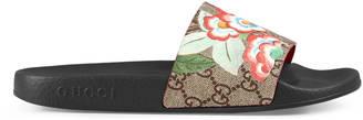 Women's Gucci Tian slide sandal $290 thestylecure.com