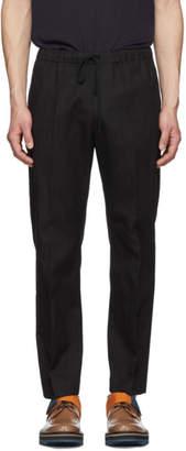 Dries Van Noten Black Perkino Trousers