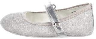 Stuart Weitzman Girls' Metallic Ballet Flats w/ Tags
