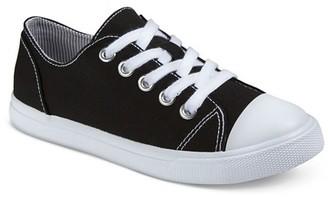 Cat & Jack Boys' Phil Low-Top Canvas Sneakers Cat & Jack - Black $14.99 thestylecure.com