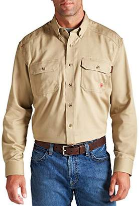 Ariat Men's Flame Resistant Solid Twill Work Shirt - 10012251