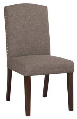Boraam Champagne Parson Dining Chair, Set of 2, Multiple Colors