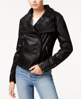 Levi's® Faux-Leather Moto Jacket $150 thestylecure.com