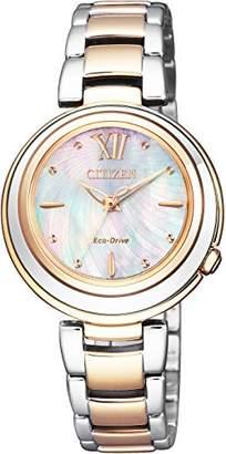 [シチズン]CITIZEN 腕時計 CITIZEN L エコ・ドライブ EM0584-81D レディース