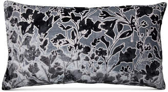 "Macy's Lacourte Misha Handcrafted Burnout Velvet Jacquard 14"" x 26"" Decorative Pillow, Created for"
