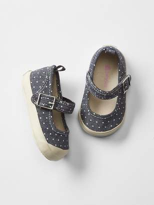 Gap Polka dot mary jane sneakers