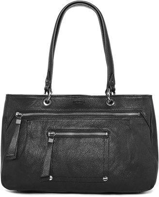 PERLINA Perlina Dublin East/West Leather Satchel $169 thestylecure.com